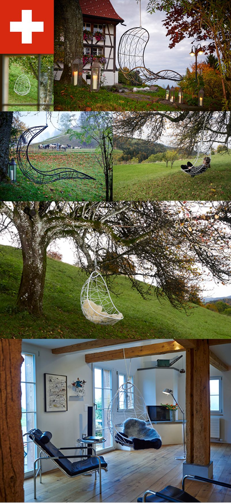 Swing Chairs in Switzerland
